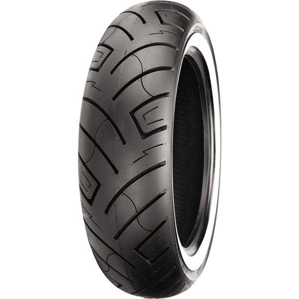 180 70 15 Shinko 777 Heavy Duty White Wall Rear Tire Walmart Com Walmart Com
