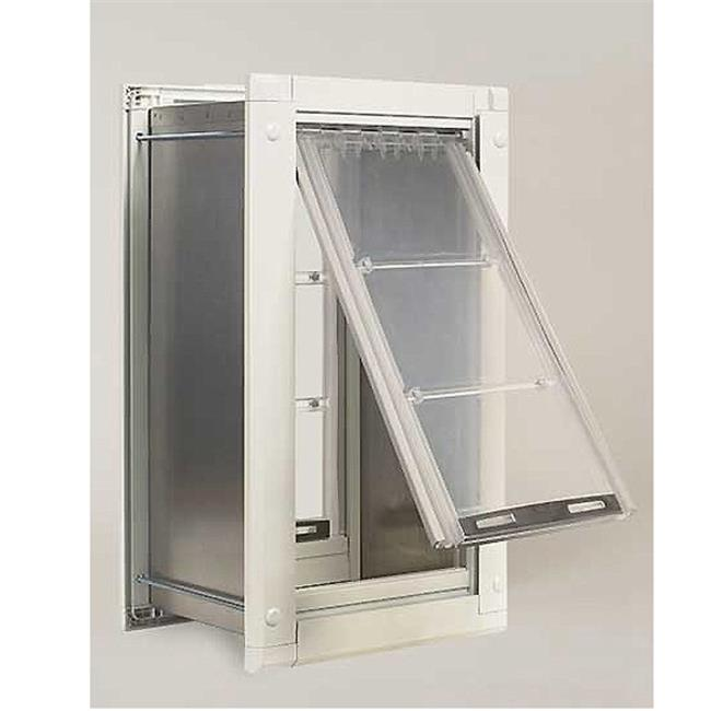 Patio Pacific 04PP12 1T 12 Endura Single Flap Pet Door Wall Unitu0026#44; Extra Large - Walmart.com  sc 1 st  Walmart & Patio Pacific 04PP12 1T 12 Endura Single Flap Pet Door Wall Unitu0026#44 ...