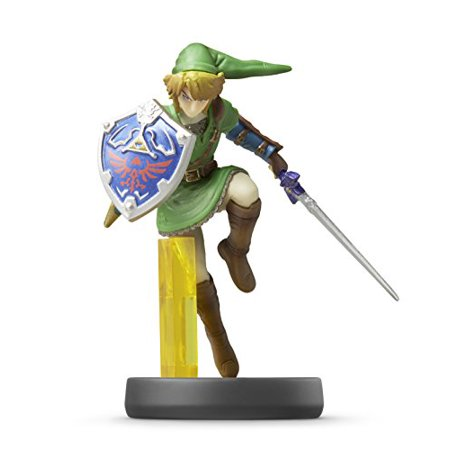 New Link Amiibo (Super Smash Bros Series) By - Use With Wii U Gamepad (Nintendo Toon Link Amiibo)