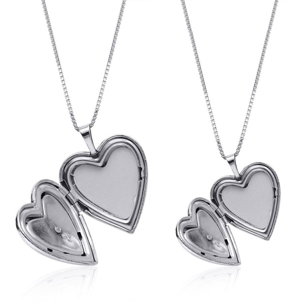 Sterling silver mother daughter mop heart lockets pendants 2 locket sterling silver mother daughter mop heart lockets pendants 2 locket necklaces walmart aloadofball Gallery