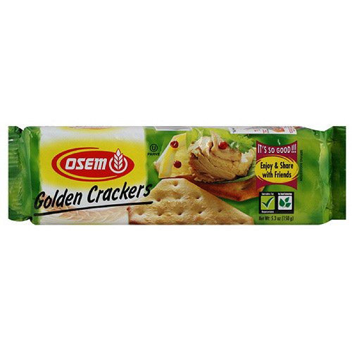 ***Discontinued by Kehe 06.10***Osem Golden Crackers, 5.3 oz (Pack of 24)