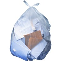 Heritage AccuFit Clear 55-gallon Can Liners, Clear, 100 / Carton (Quantity)