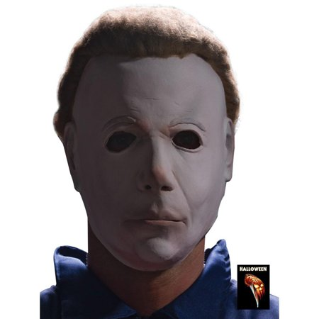 Michael Myers Adult 3/4 Mask With Attachached Wig