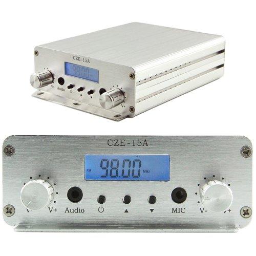 CZERF CZE_15A 3W_15W 88MHz~108MHz FM Stereo PLL Radio Bro...