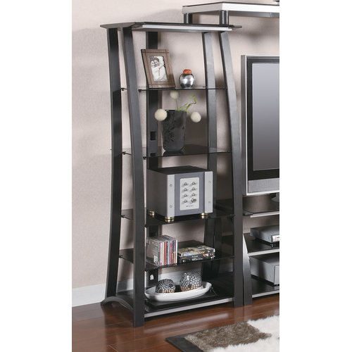 Latitude Run Metal Media Rack by