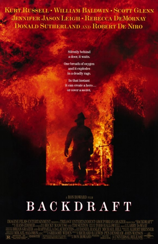 Backdraft Movie Poster (11 x 17) by Pop Culture Graphics