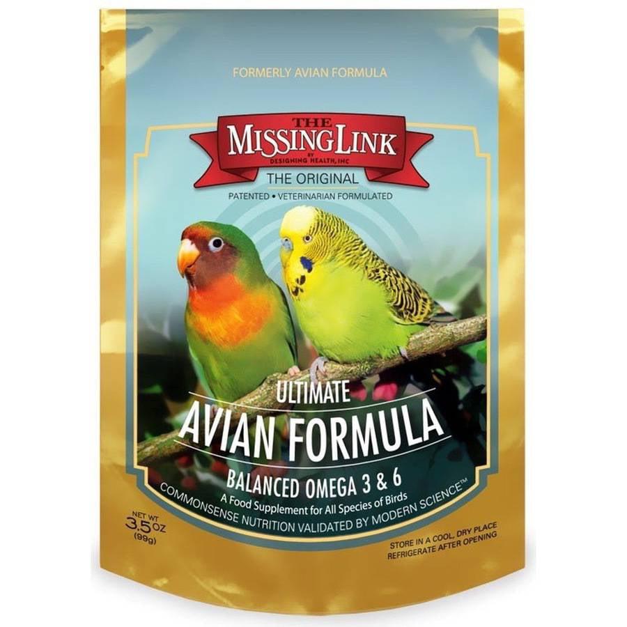 Missing Link, Ultimate Avian Formula, 3.5 oz