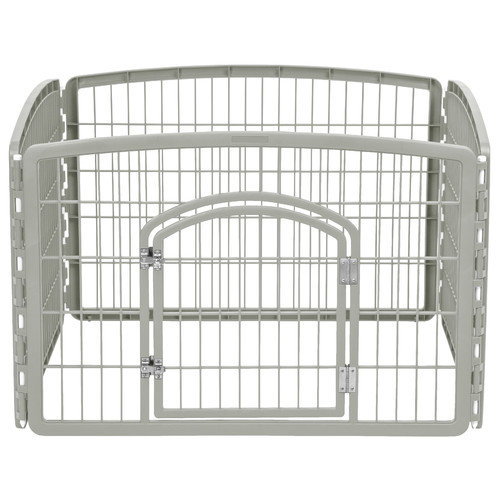 IRIS USA, Inc. 24'' Indoor/Outdoor Plastic Pet Pen