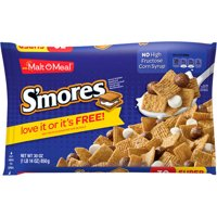 Malt-O-Meal Breakfast Cereal, S'mores, 30 Oz Bag