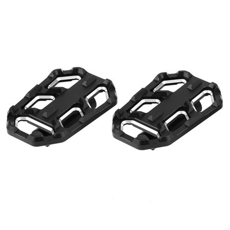 Hellan Motorcycle Billet Wide Foot Pegs Pedals Rest Footpegs for BMW G310R G310GS R1200GS LC S1000XR,Motorcycle Footpegs, Foot Rest Pedals ()