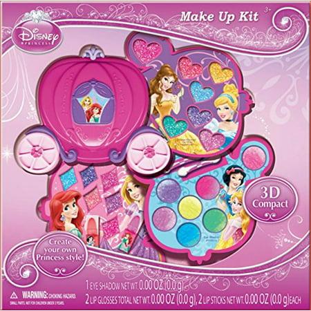 Disney Character Halloween Makeup (Disney Princess Makeup Kit Gift Set in Slide Out)