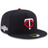 Minnesota Twins New Era 2019 Postseason Home Sidepatch 59FIFTY Fitted Hat - Navy