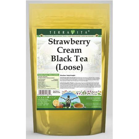 Strawberry Cream Black Tea (Loose) (4 oz, ZIN: (Cream Black Tea)