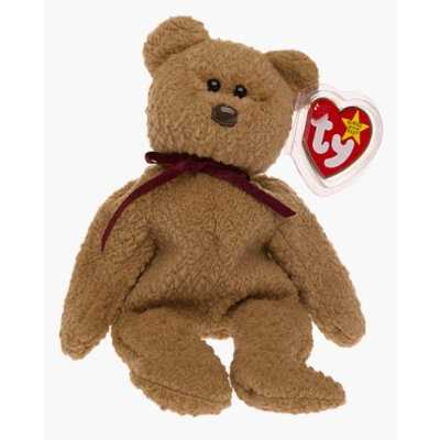 Ty Beanie Babies - Curly the Bear Retired.