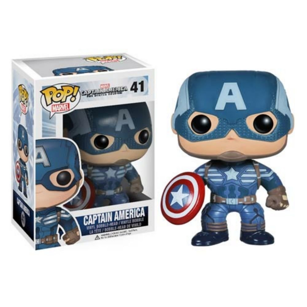 Your choice of Funko POP Movies: Captain America The winter Soldier