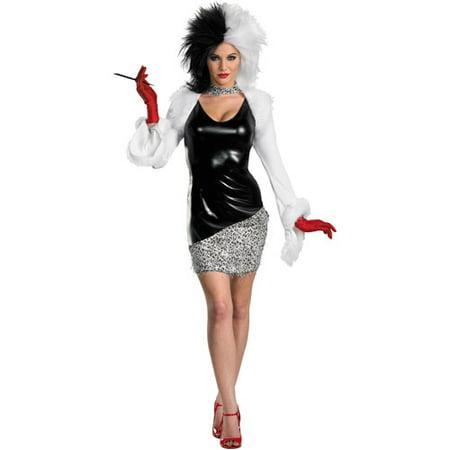 101 Dalmatians Sassy Adult Halloween Costume (Budget 101 Halloween)