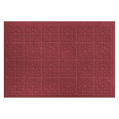 Bungalow Flooring Water Guard Star Quilt Indoor / Outdoor Door Mat