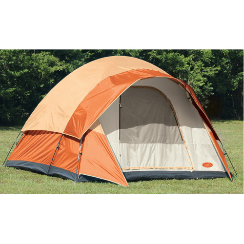 Texsport Beech Point Family 12' x 10' Dome Tent, Sleeps 6