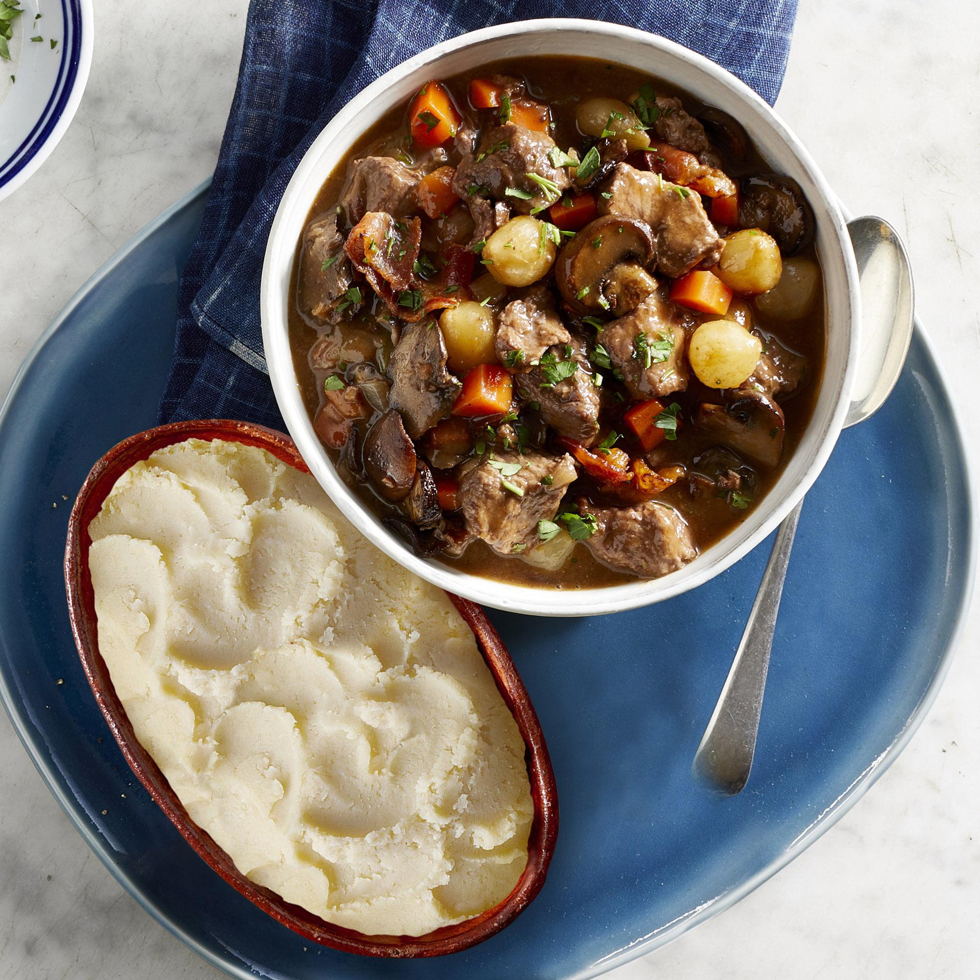Babeth's Feast, 6 Meals, Beef Bourguignon & Simple Potato Puree - Heat & Serve