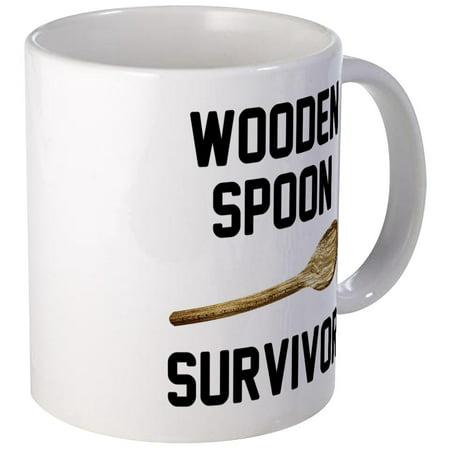 - CafePress - Wooden Spoon Survivor Mug - Unique Coffee Mug, Coffee Cup CafePress