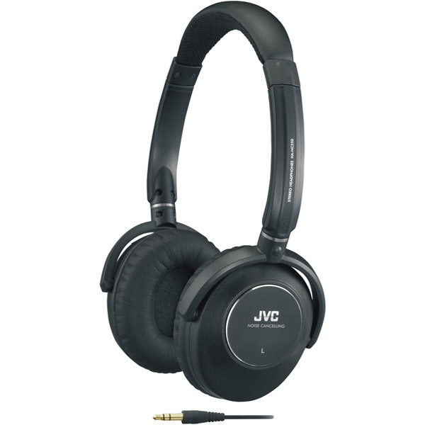 JVC - HANC250 - JVC HANC250 Noise Cancelling Headphone - Stereo