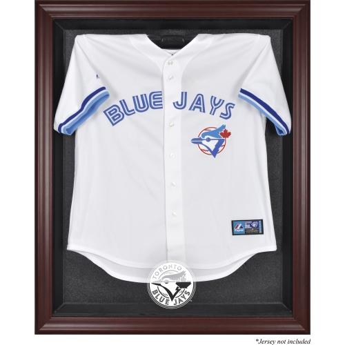 Toronto Blue Jays Fanatics Authentic Mahogany Framed Logo Jersey Display Case - No Size