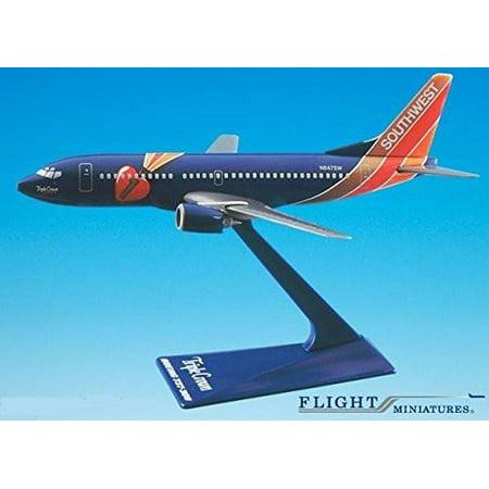Southwest Triple Crown 737-300 Airplane Miniature Model Plastic Snap Fit 1:200 Part# ABO-73730H-404