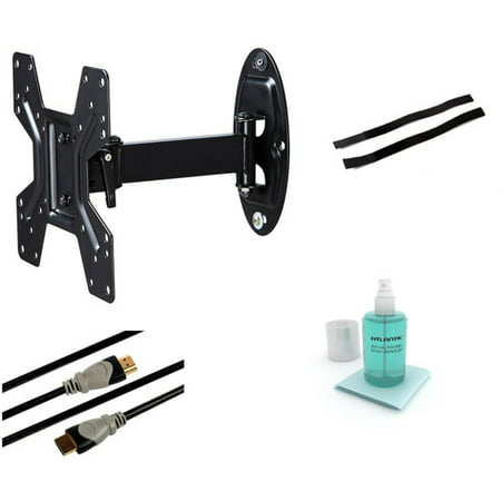 Full Motion Wall Mount Kit for 10″ to 42″ Flat Panel TVs