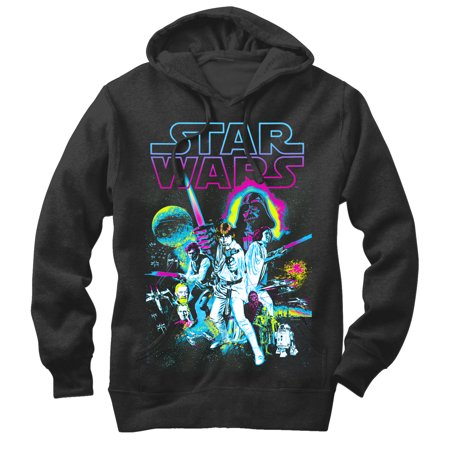 A Star Sweatshirt (Star Wars Men's A New Hope Hoodie )