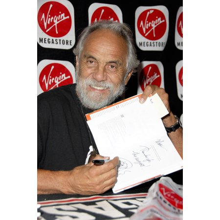 Tommy Chong At Arrivals For In-Store Appearance By Tommy Chong Signing Copies Of The I Chong Virgin Megastore Hollywood Blvd Hollywood Ca August 08 2006 Photo By Michael GermanaEverett Collection Cele - Halloween Store North Hollywood