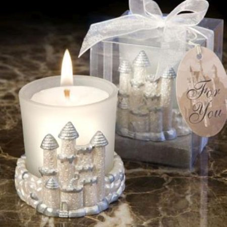 Once Upon A Time Fairy Tale Candle Favors  pack of -