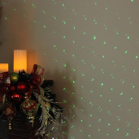 Sound Activated Dynamic Mini Christmas Laser Star Light