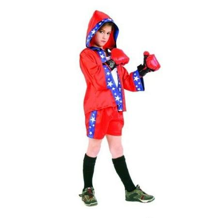 Boxer Costume - Size Child Medium 8-10 - Boxer Costumes