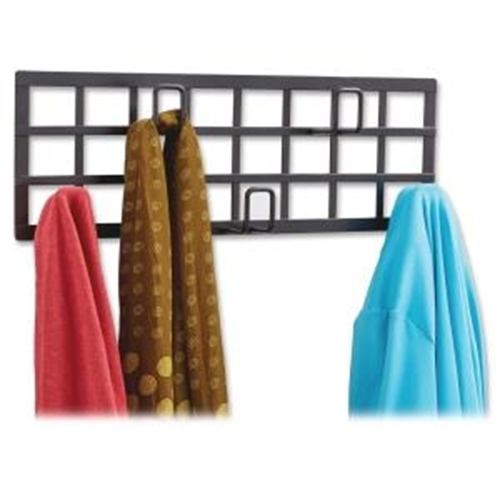 Safco Steel Grid Coat Rack 4663BL