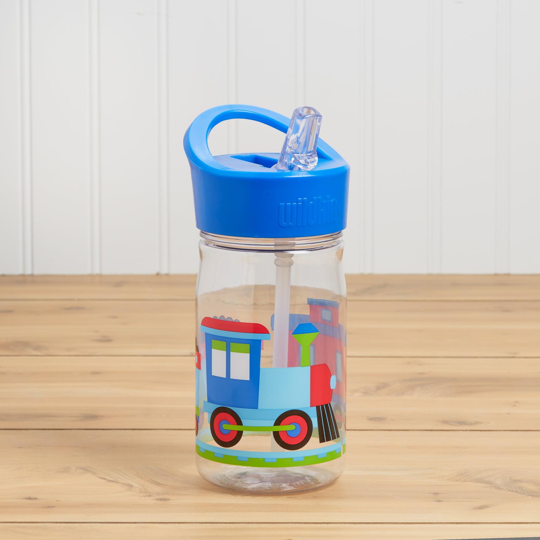 Wildkin Trains, Planes & Trucks Water Bottle