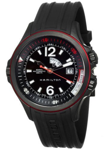 Hamilton Khaki Navy GMT Men's Automatic Watch H77585335 by