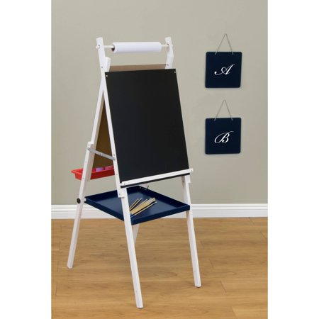 studio designs kids easel with storage white walmart com