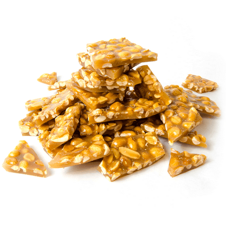 Brittle Candy - Lang's Chocolates Peanut Brittle 8oz bag