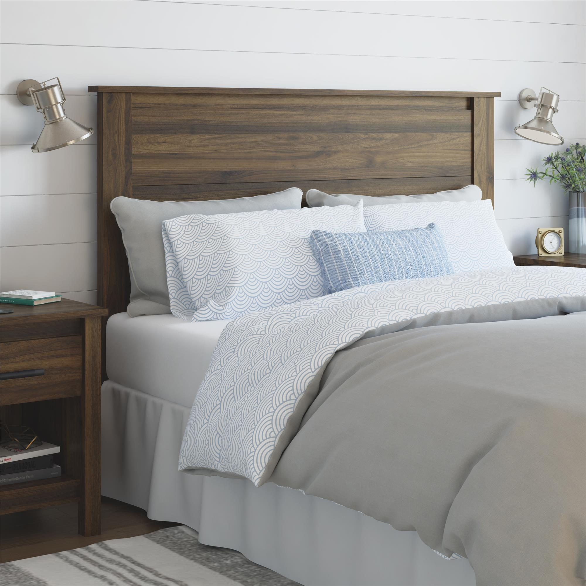 Better Homes and Gardens Wesley Queen Headboard, Multiple Colors
