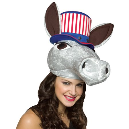 Patriot Donkey Hat Adult Halloween Accessory - Patriot Place Halloween Events