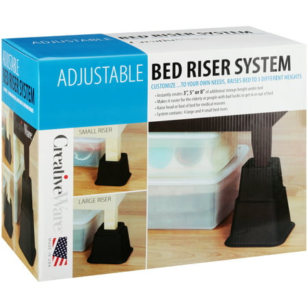 CreativeWare™ Adjustable Bed Riser System