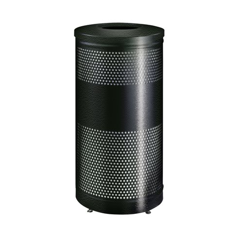 Rubbermaid Commercial Products 25-Gal Howard Classics Open Top Waste Receptacle