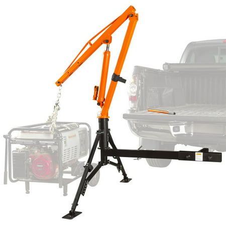 Apex Hydraulic Hitch-Mount Pickup Truck 1,000 lb Jib Crane (Crane Jib Head)