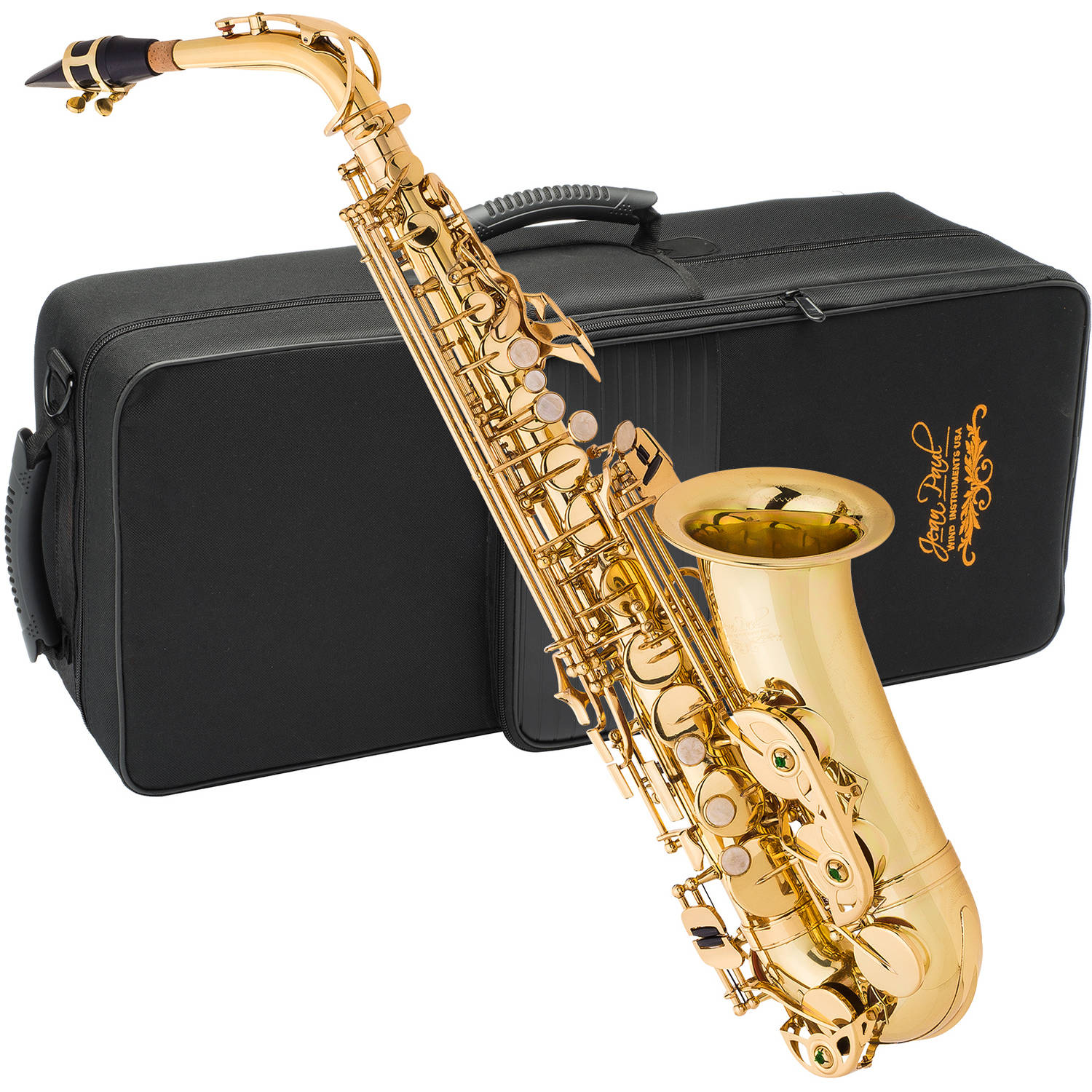 Jean Paul AS-400 Alto Saxophone with Case by Generic