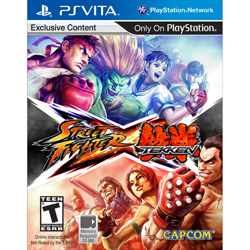 Street Fighter X Tekken (PS Vita)