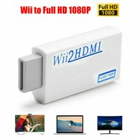 Simyoung Wii to HDMI Wii 2 HDMI Full HD Portable Converter Adapter 3.5mm Audio Out
