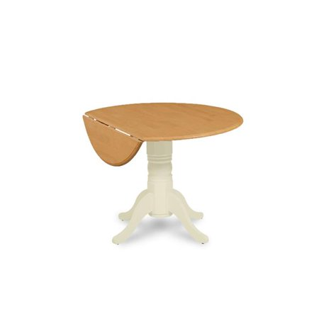 MD Furniture BUTBOATP In Dia X In Burlington Round - 30 x 42 dining table