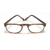 Reading Glasses 1.25 Power, 0.5 Eye Plastic Tort Wireco, Frame Size: Rr729 - 1 (Power Glass For Eye)
