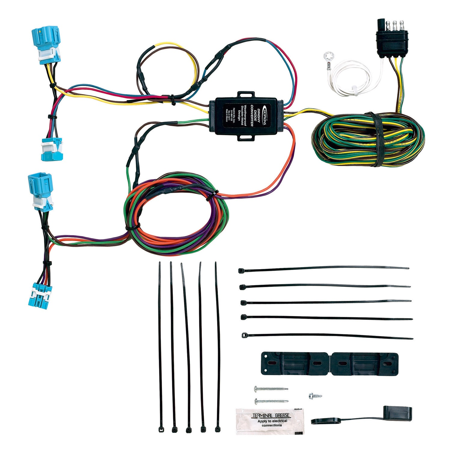 Hopkins Hitching Wiring Diagram Building A Simple Automotive Towing Solution 56300 Plug In Towed Vehicle Karr