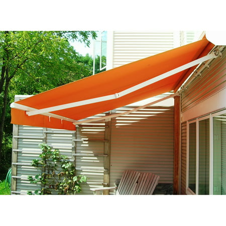 best service 4936f 40d4d The Perfect Shade Creator 16 x 11-ft. Motorized Retractable Awning